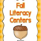 FALL Literacy Centers aligned with Common Core Standards