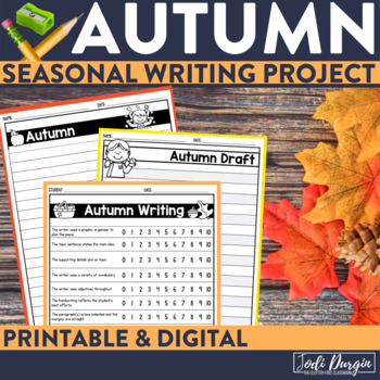 FALL WRITING PROJECT {aligned with Common Core K-4} bullet
