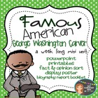 Famous American - George Washington Carver Mini Unit {Powe