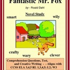 FANTASTIC MR FOX:  Novel Study