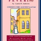 FEVER 1793 Novel Study - Common Core Aligned