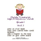 FL Treasures Grade 1 Unit 3 High Frequency Words