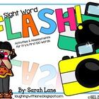 FLASH! An EDITABLE Sight Word Unit