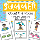 SUMMER Count the Room Activity for Early Learners (Differe