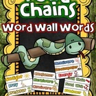 FOOD CHAINS Word Wall Words {15 Food Chain Vocabulary Words}