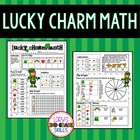 FOOD MATH - Lucky Charm Math for St. Patrick&#039;s Day