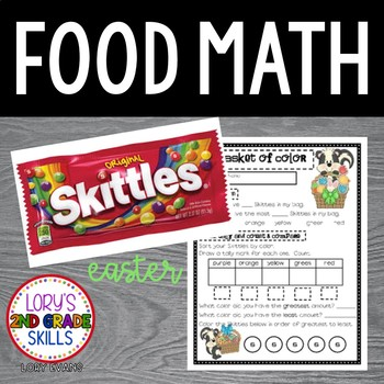 FOOD MATH - Skittle Math - Basket of Color