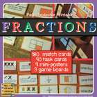 FRACTIONS: Match Cards, Task Cards, Posters