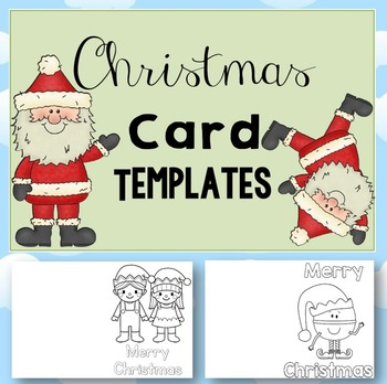 FREE 10 x Christmas Cards - black and white - 10 pages
