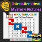 FREE 2013 Watch, Think, Color Place Value Practice Game!