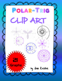 21 Great FREE Polar Clip Art Graphs for Trigonometry or any Math