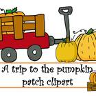 FREE A Trip to the Pumpkin Patch Clipart by Learning 4 Kee