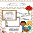 FREE ANZAC Ode Cut and Paste