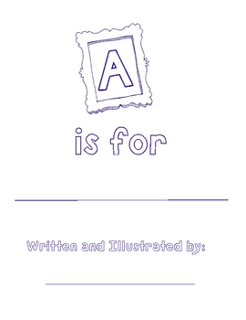 FREE Alphabet Book Template