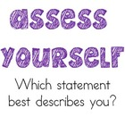 FREE Assess Yourself: Formative Assessment Posters