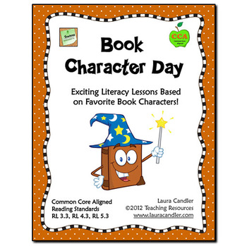 FREE Book Character Day Activities