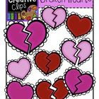 FREE Broken Hearts {Creative Clips Digital Clipart}