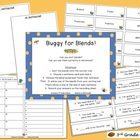FREE Buggy for Blends! - Reading/Literacy Center