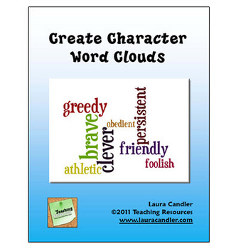 FREE Character Word Clouds