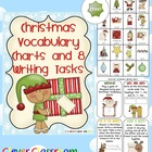 FREE Christmas Vocabulary Charts and 8 Writing Tasks - 5 pages