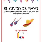 FREE Cinco de Mayo Acrostic and Bingo Templates, and Video