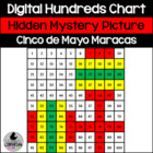 FREE Cinco de Mayo Maracas Hundreds Chart Hidden Picture A