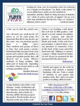 FREE Classroom Tips & Ideas Newsletter - Issue 3