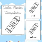 FREE Color Poster Templates - 18 pages