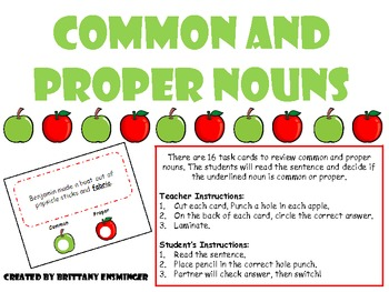 FREE!!! -Common and Proper Noun (Apple Poke)