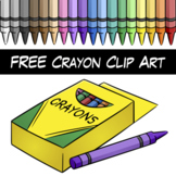 FREE Crayon Clipart
