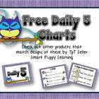 FREE Daily 5 Posters - Its a Hoot! Owl Theme