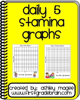 FREE! Daily 5 Stamina Graphs