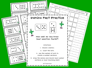 FREE Domino Fact Practice (Addition)