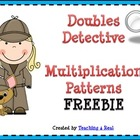 FREE Doubles Detective Multiplication Strategy