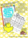 FREE Draw It Now Spring Chick Literacy Center-Easy to Prep