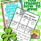 FREE Draw It Now St. Patrick's Day Literacy Center-Easy to