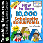 FREE Earn 7000 Scholastic Bonus Points (2012)