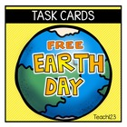 FREE Earth Day Fluency Task Cards