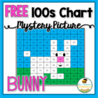 FREE Easter Bunny Hundreds Chart Mystery Picture