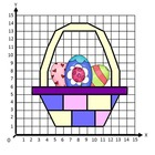 FREE Easter Co-ordinate, Graphing, Ordered Pairs Picture