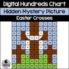 FREE Easter Crosses Hundreds Chart Hidden Picture Activity