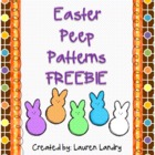 FREE Easter Peep Patterns