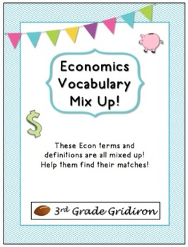FREE Economics Vocab Mix Up!