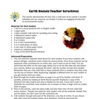 FREE Edible Earth Rounds Activity