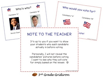 FREE Election 2012 Activity - Get Your Class Involved!