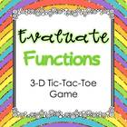 FREE Evaluate Functions 3-D Tic-Tac-Toe Game