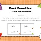 FREE Fact Families Matchup (Countdown to Christmas - Day 8)