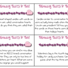 FREE February Facts & Fun Cards