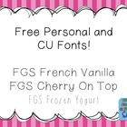 FREE Fonts for Personal and Commercial Use (CU) - The Firs