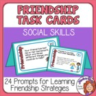 FREE Friendship Cards: 24 Social Skill Prompts by Rachel Lynette